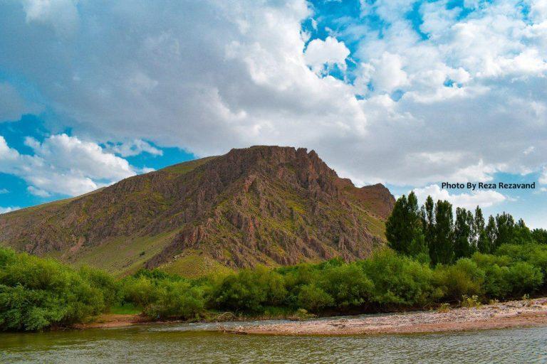کوه زیبای جان آغا شهرستان میاندوآب