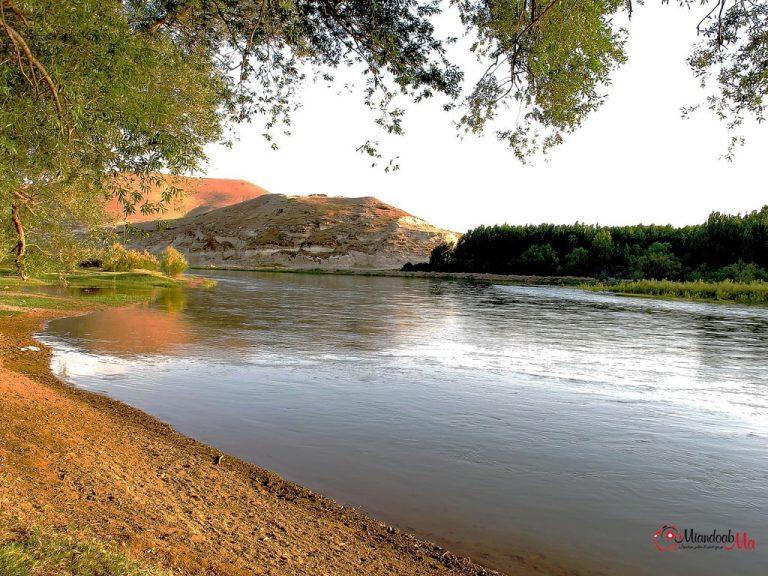 رودخانه زرینه رود میاندوآب