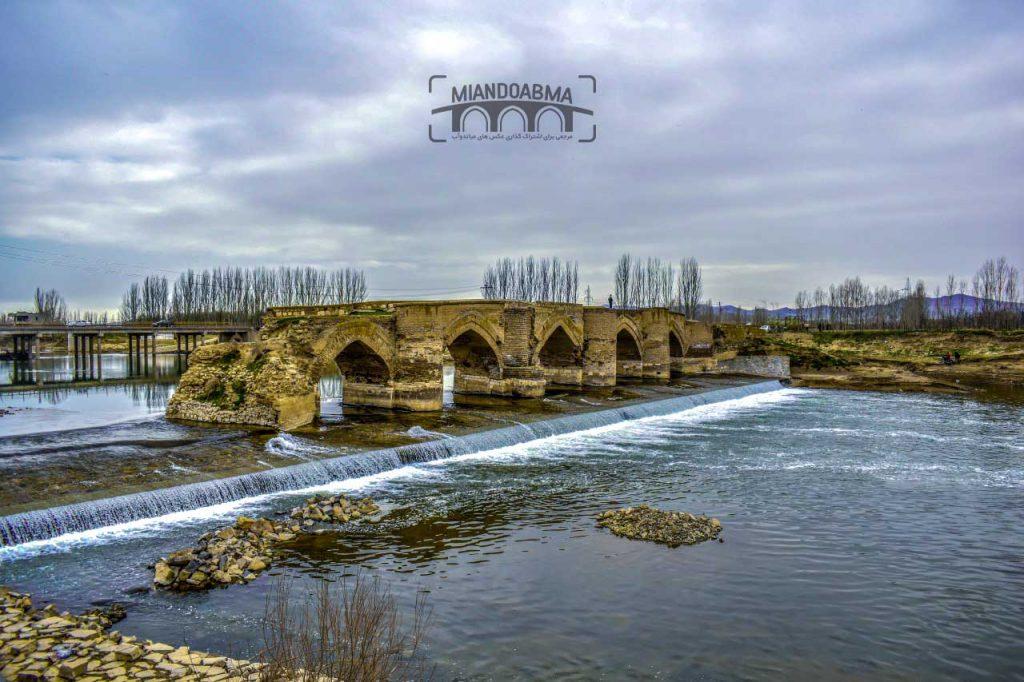 پل تاریخی میاندواب Miandoab historic bridge